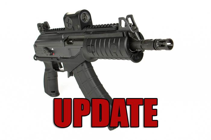 IWI ACE Pistol Recall