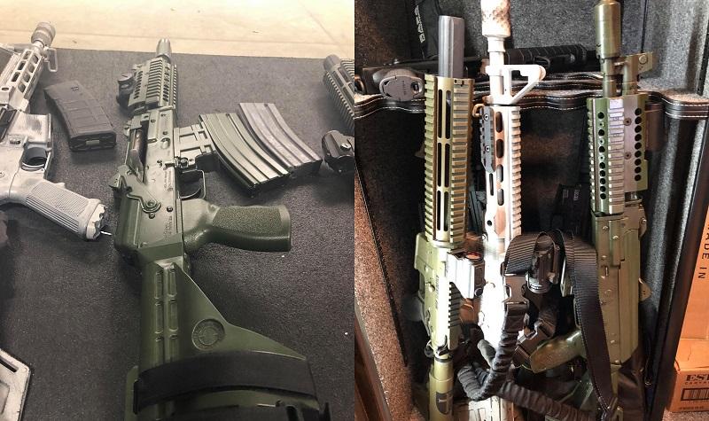 AK Pistol Zastava Side by Side