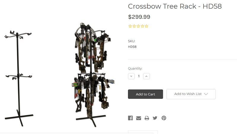 Archery Rack Tree Stand