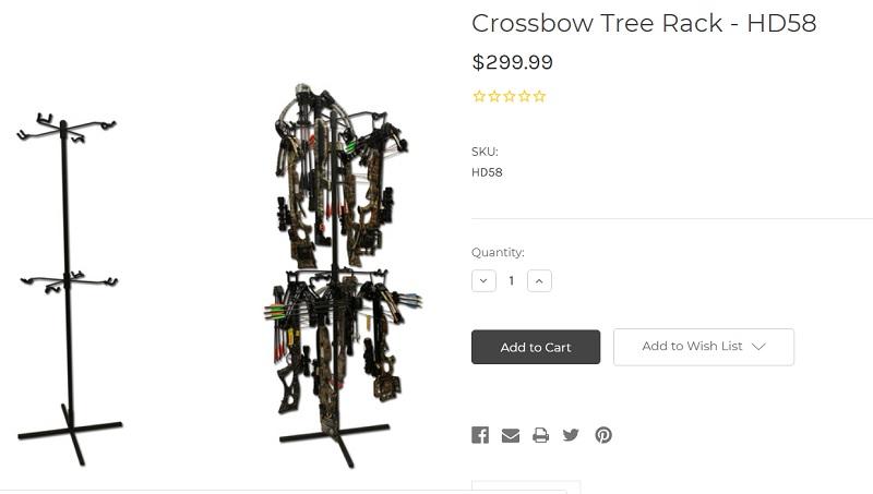 Archery Rack Tree Stand