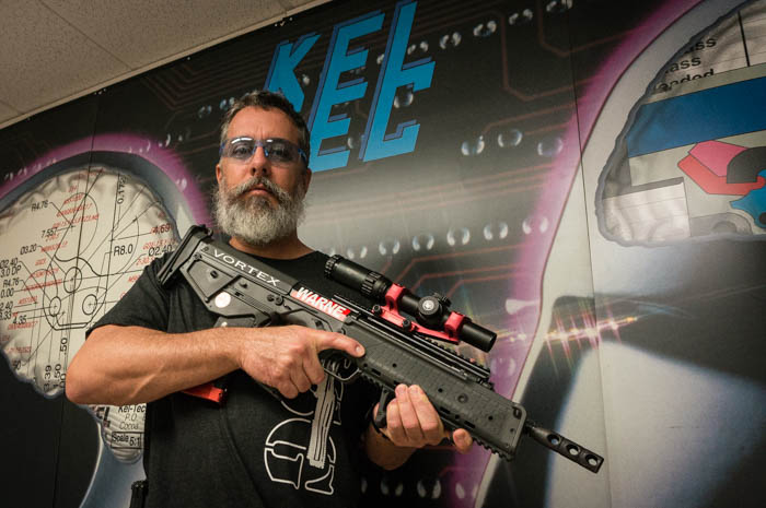 Chad from Kel-Tec with an RDB
