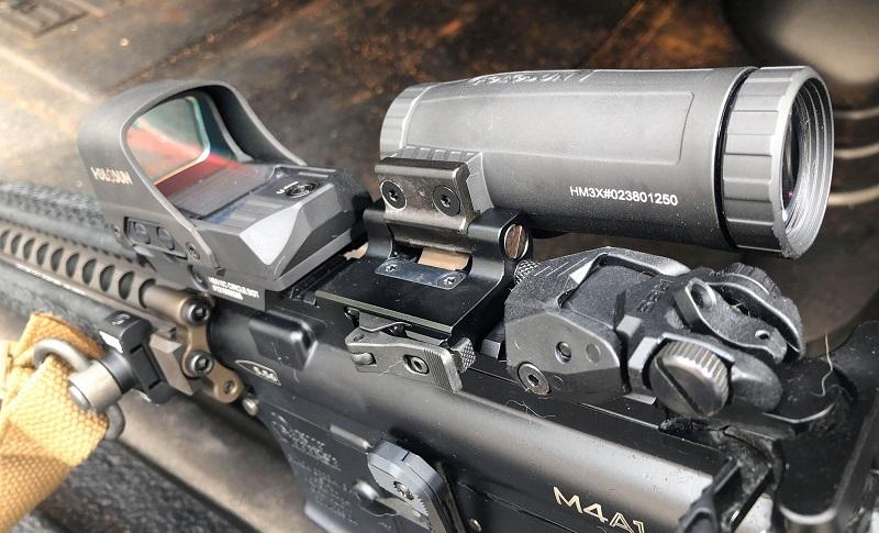 Holosun HS510C & HM3X Magnifier Closeup