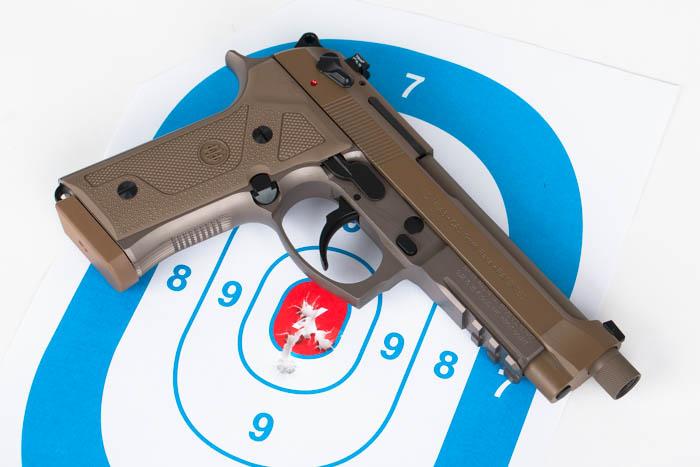 Beretta M9A3 target