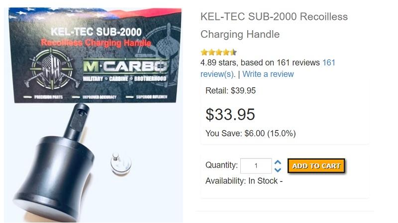 Kel-Tec Sub 2000 Recoil Control