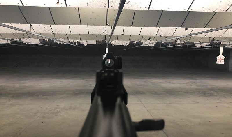 Aimpoint Micro T1 Range