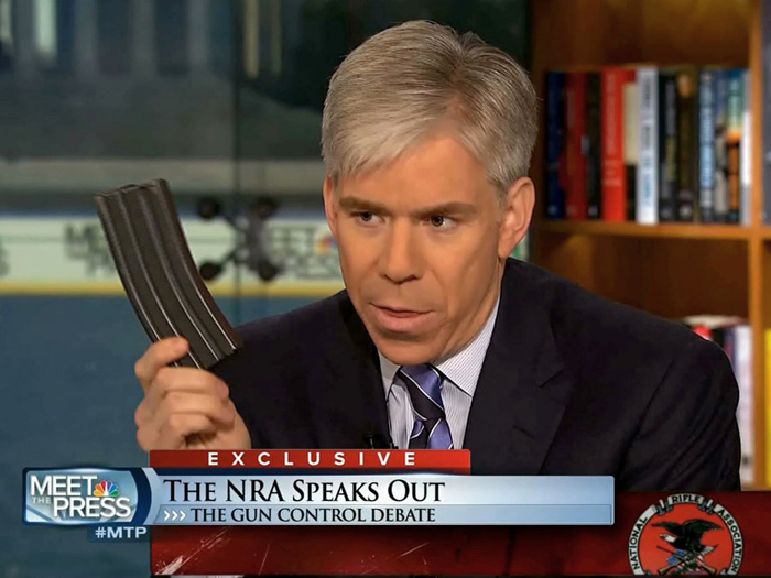 David Gregory violating DC gun laws on national TV
