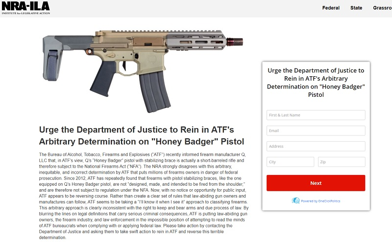 ATF's Latest Cease and Desist