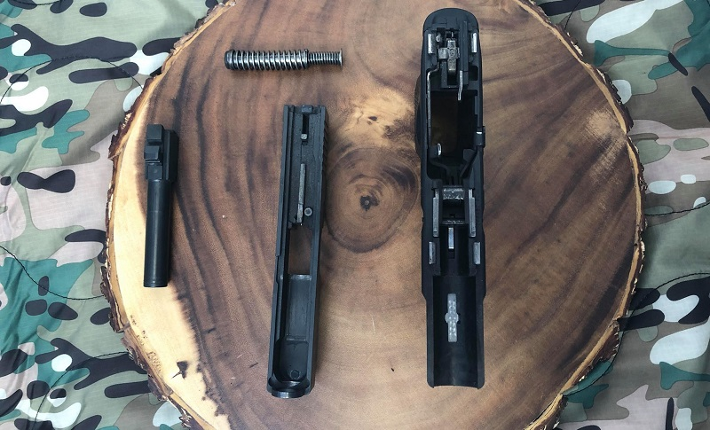 Dirty Glock Disassembled