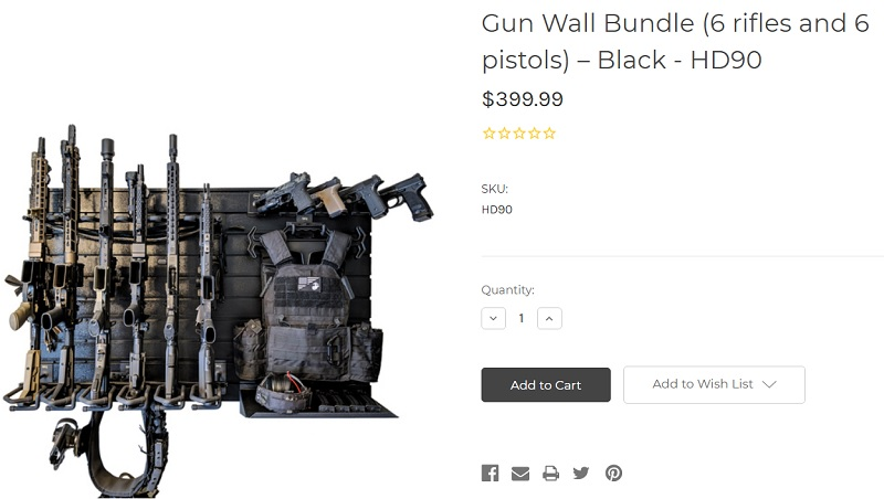 Gun Rack Full Display