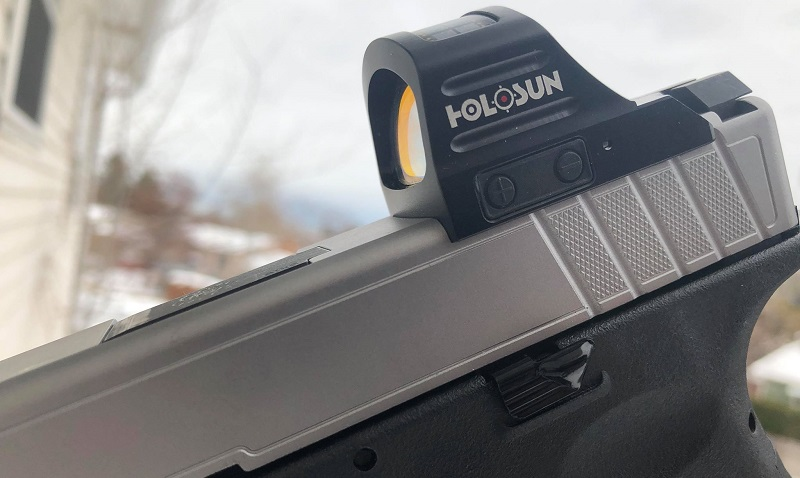 Holosun HS407C Side View