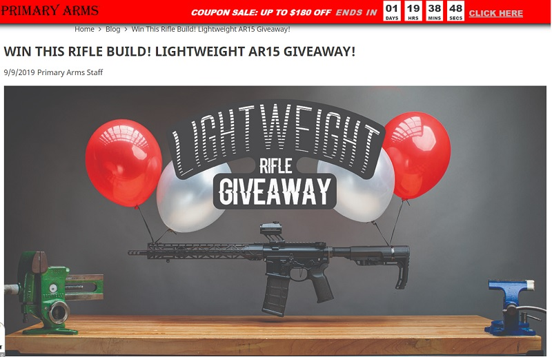 Primary Arms Giveaway
